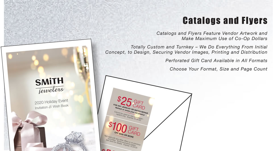 Catalogs and Flyers