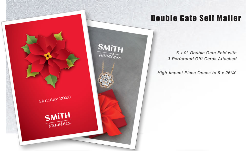 Double Gate Self Mailer