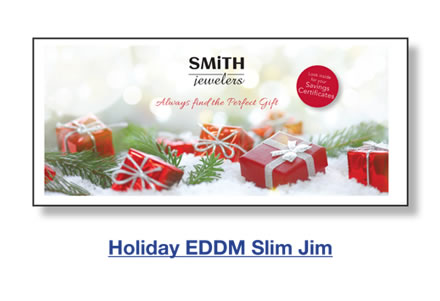 Holiday EDDM Slim Jim
