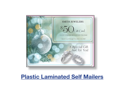 Plastic Laminated Self Mailers