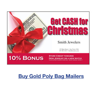 Buy Gold Poly Bag Mailers